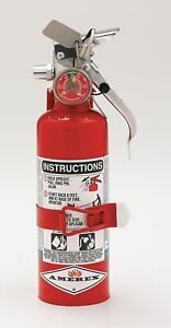 Amerex Halotron Fire Extinguisher With 1 4 Lb Capacity And 9 Sec Discharge