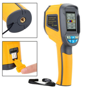 Ht 02 Handheld Digital Ir Infrared Thermal Imaging Camera Thermometer 20 300