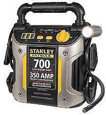 Fatmax 700 amp Peak Car Jump Starter With 120 Psi Air Compressor Usb Charger