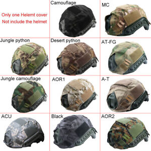 Outdoor Airsoft Paintball Tactical Military Gear Combat Fast Helmet Cover New