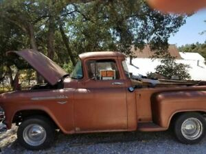 1956 Chevy Stepside Pick Up Truck