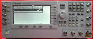 Agilent E8267d Psg Vector Signal Generator 250 Khz To 20 Ghz My50350118 options