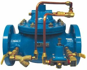 Watts Flanged Single Chamber Pressure Reducing Control Valve 3 Pipe Size