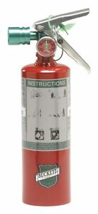 Buckeye 70258 Fire Extinguisher 2b C 2 5lb Cleanagent
