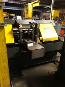 Doall C3300nc Horizontal Band Saw 1997 With Uniop Programmable Control