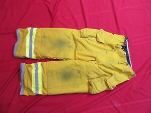 30 X 26 Lion Body Guard Firefighter Turnout Gear Bunker Gear Pants Thermal Liner