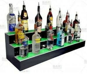 Barconic Led Liquor Shelf Bottle Display 48 With Remote In Box Never Used