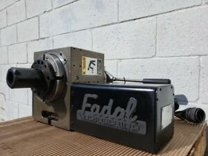 Fadal Vh 65 4th axis Rotary Table 6 5 Dia W 5c Collet Closer