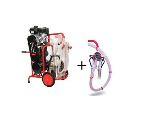 Electric gas Cow And Goat Milking Machine Complete Milking System By Melasty