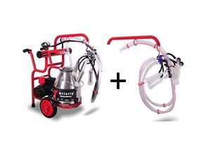 Electric Cow And Goat Milking Machine Milking System 6 Gallon Bucket