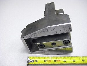Ikegai Cnc Lathe Tool Holder Od Turn Face Tc 26 Tu Tur Fx Turret Turning Center