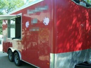 2014 8 X 16 Food Concession Trailer For Sale In Texas