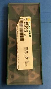 Tool Flo Tnmc 43 Ngr W 029 Carbide Threading Insert 10 Pieces l41