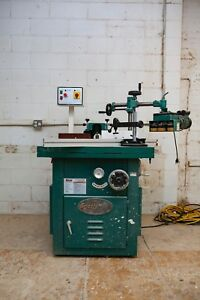 Sliding And Tilting 5 Hp Spindle Shaper By Grizzly G8622