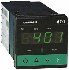 Gefran 400 Pid Temperature Controller 48 X 48 1 16 Din mm 3 Output Relay 11