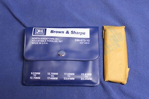Brown Sharpe 599 673 10 Adjustable Parallel 599 673 4