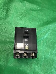 Square D Everything Qo360 3pole 60 Amp 120 240v Used