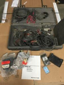 Case And Accessories For A Chrysler Drb Iii Includes Cables Amp Probe Memory