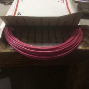 8 Awg Stranded Thhn Copper Wire 110 Feet Red