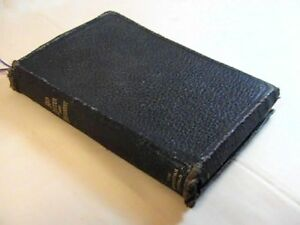 Antique 1900 Bible Red Letter New Testament The Christian Herald
