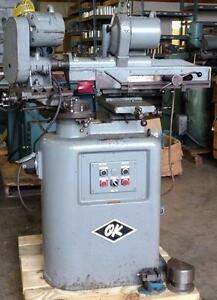 Pratt Whitney Ok R8 Linear Bearing Tool Cutter Grinder Excellent Condition