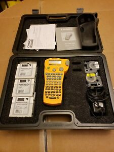 Dymo Rhinopro 5000 Handheld Label Maker With Extra Labels