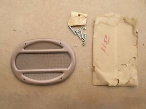 Nos Chevy Ford Dodge Cadillac Car Truck Radio Dash Rear Seat Speaker Grille