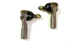2 Outer Tie Rod Ends For Mustang Ii Manual Or Power Steering Rack Street Rod New