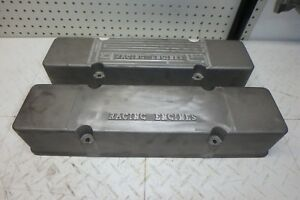 Sbc Aluminum Valve Covers Racing Engine For Small Block Chevy