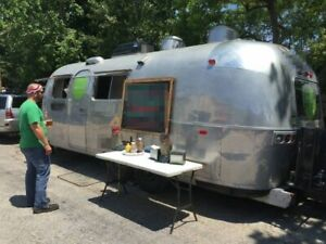 8 X 26 1971 Vintage Airstream Food Concession Trailer For Sale In Louisiana