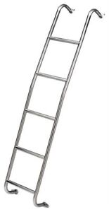 Surco Products Inc 093sl Stainless Steel Van Ladder Sprinter High Roof