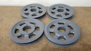 Browning Bk70h Pulley V belt 1 Groove 6 75 Od This Buy It Now Is For 4 Pulleys