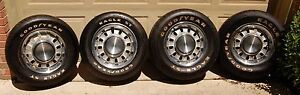 Oem 1968 1969 Ford Mustang 14 X 7 5 Lug Wheels Goodyear Tires Mach 1 Shelby