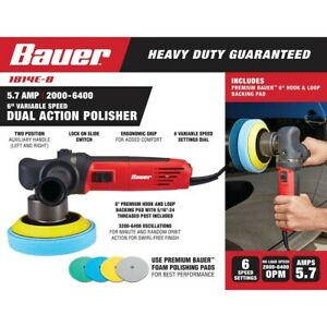 6 In 5 7 Amp Heavy Duty Dual Action Variable Speed Polisher Buffer Sander