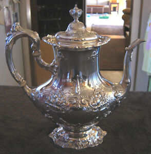 Reed Barton Francis I Sterling Silver Coffee Pot No Monograms