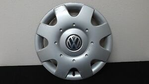 1 Vw Volkswagen Beetle Jetta 16 Wheel Cover Hub Cap 1c0 601 147 98 99 00 01