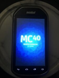 Motorola symbol Mc40n0 Wal mart Software Mobile Comp Barcode Scanner Zebra Works