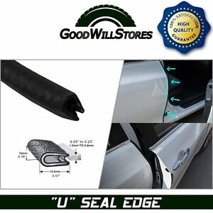 Rubber Seal Strip Trim Protective Car Auto Accessory Hood Trunk Anti noise 32ft