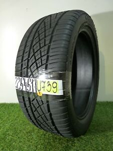 225 45 17 91w Used Tire Continental Extreme Contact Dws 06 94 U739
