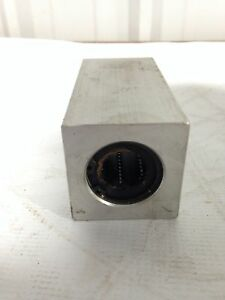 5 X 2 1 2 X 2 1 2 Aluminium Linear Bearing Block W 1 Dia Shaft Bore