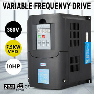 7 5kw 380 V Variable Frequency Drive Inverter Vfd 10hp 19a