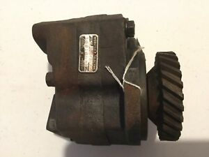 Massey Harris 33 Diesel Hydraulic Pump Hard To Find Part