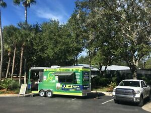 2018 7 6 X 20 Solar Concession Trailer With Porch For Sale In Florida