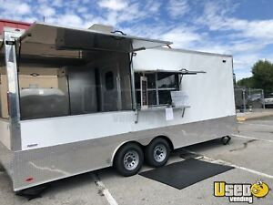 2018 8 5 X 22 Bbq Concession Trailer With Porch For Sale In Kentucky