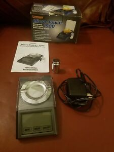 Lyman 7750700 Micro-touch 1500 Electronic Reloading Scale 115v