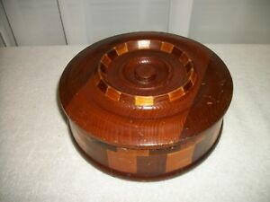 Vintage Retro Bowl Box Container Redwood Forests California Specialty Co Sf