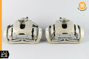 07 13 Mercedes W216 Cl65 S63 Amg Rear Left And Right Brake Caliper Set Oem