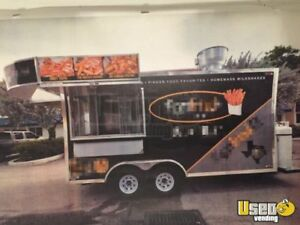 2016 8 X 20 Mobile Kitchen Food Concession Trailer For Sale In Texas