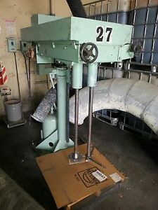 Mixer Disperser Mooney myers cowles hockmeyer Dissolver Dual Mix Shaft