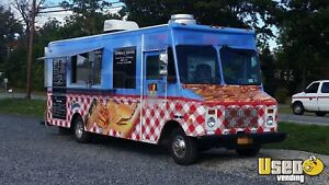 Chevy P 30 Grumman Mobile Kitchen Food Truck For Sale In New York